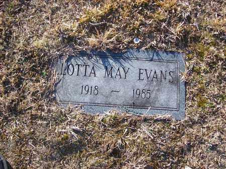 EVANS, LOTTA MAY - Lawrence County, Kentucky | LOTTA MAY EVANS - Kentucky Gravestone Photos