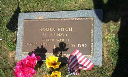 FITCH (VETERAN WW II), HOMER - Lawrence County, Kentucky | HOMER FITCH (VETERAN WW II) - Kentucky Gravestone Photos