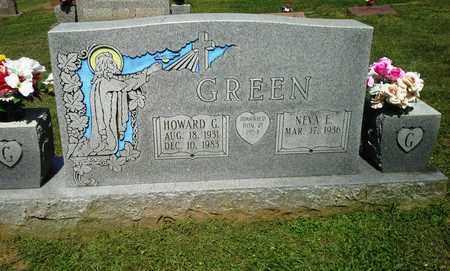 GREEN, HOWARD G - Lawrence County, Kentucky | HOWARD G GREEN - Kentucky Gravestone Photos