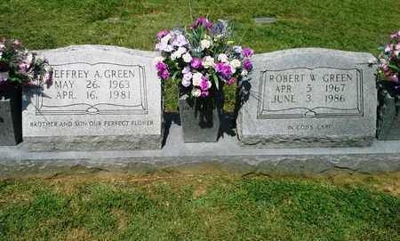 GREEN, ROBERT W - Lawrence County, Kentucky | ROBERT W GREEN - Kentucky Gravestone Photos