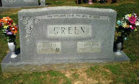 GREEN, INA M - Lawrence County, Kentucky | INA M GREEN - Kentucky Gravestone Photos