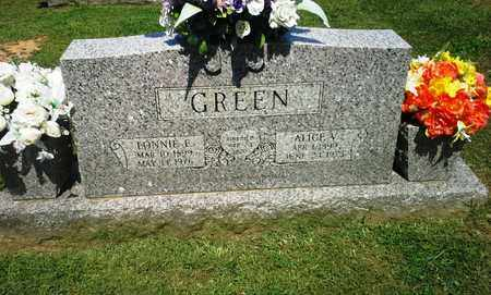 GREEN, LONNIE E - Lawrence County, Kentucky | LONNIE E GREEN - Kentucky Gravestone Photos