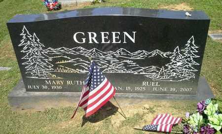 GREEN, RUEL - Lawrence County, Kentucky | RUEL GREEN - Kentucky Gravestone Photos