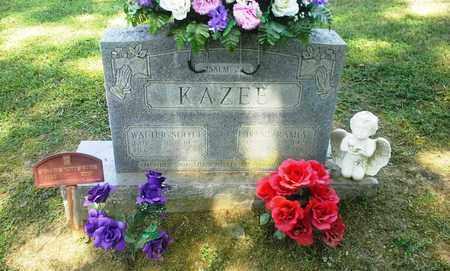 KAZEE, WALTER SCOTT - Lawrence County, Kentucky | WALTER SCOTT KAZEE - Kentucky Gravestone Photos
