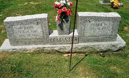 LEMASTER, ROSCOE - Lawrence County, Kentucky | ROSCOE LEMASTER - Kentucky Gravestone Photos