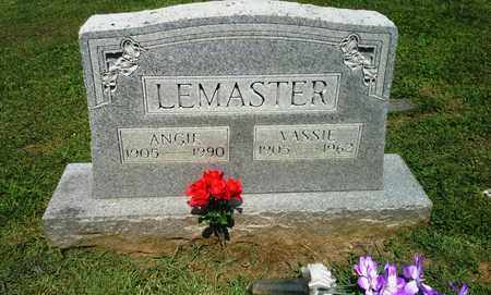 LEMASTER, ANGIE - Lawrence County, Kentucky | ANGIE LEMASTER - Kentucky Gravestone Photos