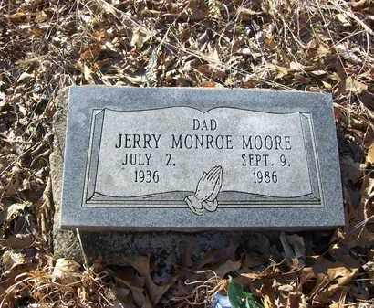 MOORE, JERRY MONROE - Lawrence County, Kentucky   JERRY MONROE MOORE - Kentucky Gravestone Photos