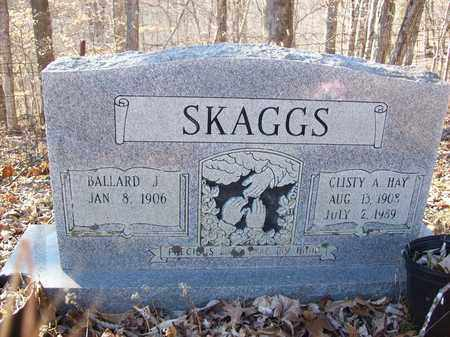 HAY SKAGGS, CLISTY A - Lawrence County, Kentucky | CLISTY A HAY SKAGGS - Kentucky Gravestone Photos