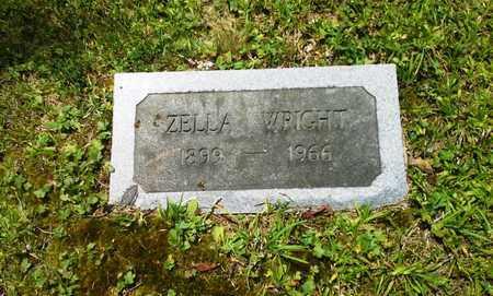 WRIGHT, ZELLA - Lawrence County, Kentucky | ZELLA WRIGHT - Kentucky Gravestone Photos