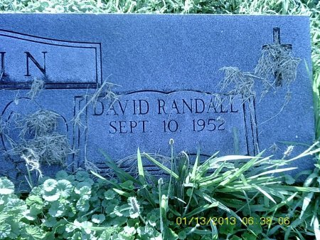 RANDALL, DAVID - Lincoln County, Kentucky | DAVID RANDALL - Kentucky Gravestone Photos