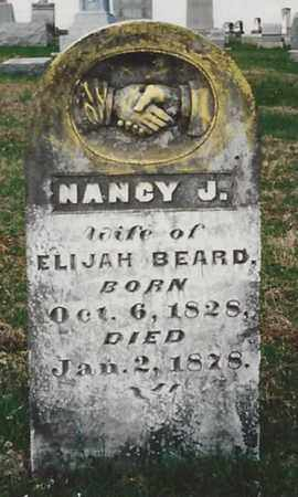 BEARD, NANCY JANE - Marion County, Kentucky | NANCY JANE BEARD - Kentucky Gravestone Photos