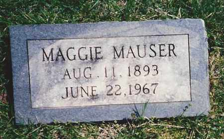 MAUSER {MOUSER}, MAGGIE - Marion County, Kentucky | MAGGIE MAUSER {MOUSER} - Kentucky Gravestone Photos
