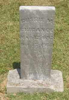 BRIGANCE, GUSSIE M - Muhlenberg County, Kentucky   GUSSIE M BRIGANCE - Kentucky Gravestone Photos