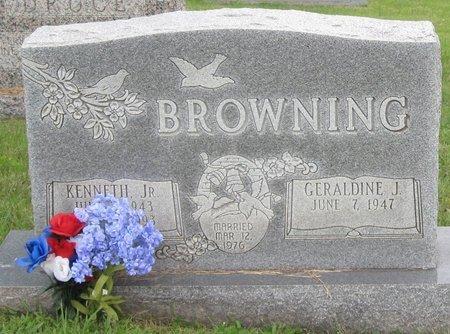 BROWNING, GERALDINE J. - Muhlenberg County, Kentucky   GERALDINE J. BROWNING - Kentucky Gravestone Photos