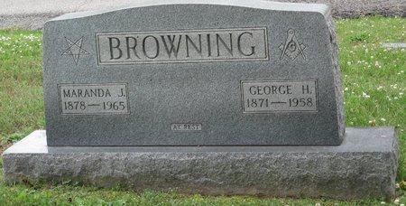 BROWNING, MARANDA JANE - Muhlenberg County, Kentucky | MARANDA JANE BROWNING - Kentucky Gravestone Photos