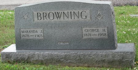 BROWNING, GEORGE H. - Muhlenberg County, Kentucky | GEORGE H. BROWNING - Kentucky Gravestone Photos