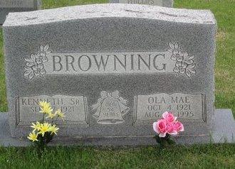 BROWNING, OLA MAE - Muhlenberg County, Kentucky | OLA MAE BROWNING - Kentucky Gravestone Photos