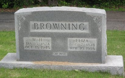 BROWNING, W. H. - Muhlenberg County, Kentucky | W. H. BROWNING - Kentucky Gravestone Photos