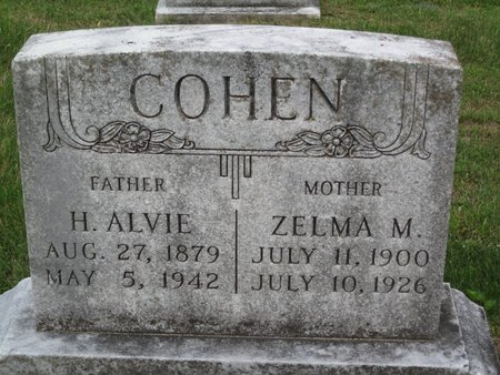 COHEN, H. ALVIE - Muhlenberg County, Kentucky | H. ALVIE COHEN - Kentucky Gravestone Photos