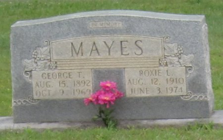 MAYES, ROXIE L. - Muhlenberg County, Kentucky | ROXIE L. MAYES - Kentucky Gravestone Photos