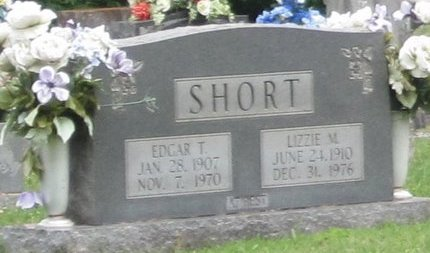 SHORT, LIZZIE M. - Muhlenberg County, Kentucky | LIZZIE M. SHORT - Kentucky Gravestone Photos