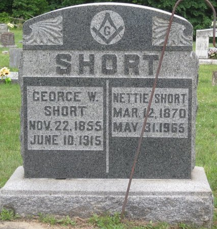 SHORT, GEORGE W. - Muhlenberg County, Kentucky | GEORGE W. SHORT - Kentucky Gravestone Photos