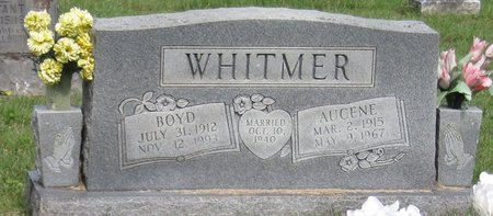 WHITMER, AUGENE - Muhlenberg County, Kentucky | AUGENE WHITMER - Kentucky Gravestone Photos