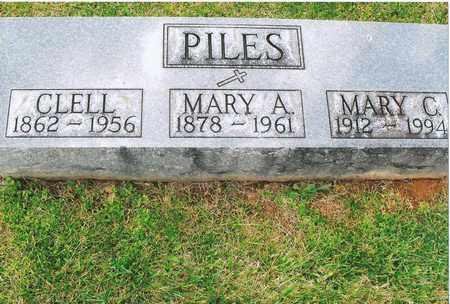 PILES, JOHN CLELL - Nelson County, Kentucky   JOHN CLELL PILES - Kentucky Gravestone Photos