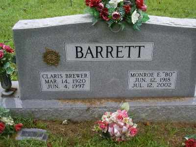 BREWER BARRETT, CLARIS - Owsley County, Kentucky | CLARIS BREWER BARRETT - Kentucky Gravestone Photos