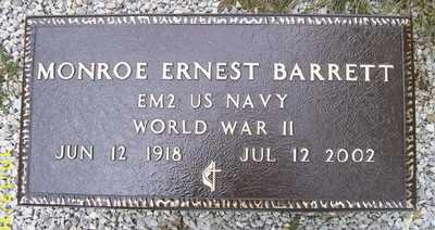 BARRETT (VETERAN WWII), MONROE ERNEST - Owsley County, Kentucky | MONROE ERNEST BARRETT (VETERAN WWII) - Kentucky Gravestone Photos