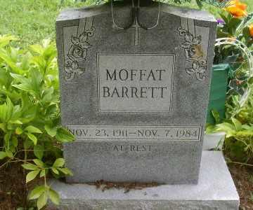 BARRETT, MOFFATT - Owsley County, Kentucky   MOFFATT BARRETT - Kentucky Gravestone Photos