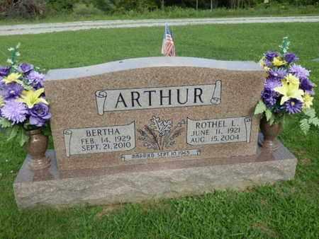 ARTHUR, BERTHA - Pulaski County, Kentucky   BERTHA ARTHUR - Kentucky Gravestone Photos