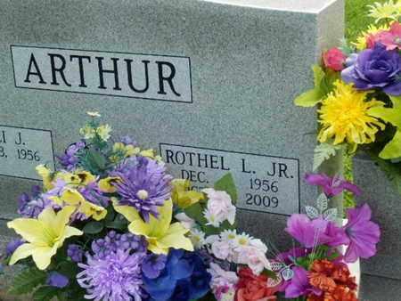 ARTHUR, ROTHEL L., JR. - Pulaski County, Kentucky | ROTHEL L., JR. ARTHUR - Kentucky Gravestone Photos
