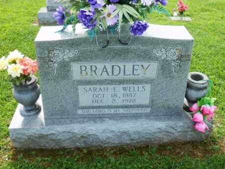 WELLS BRADLEY, SARAH E. - Pulaski County, Kentucky | SARAH E. WELLS BRADLEY - Kentucky Gravestone Photos