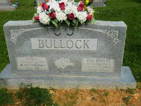 BULLOCK, NORA - Pulaski County, Kentucky | NORA BULLOCK - Kentucky Gravestone Photos