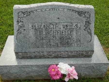 BURCHFIELD, ELIZABETH - Pulaski County, Kentucky   ELIZABETH BURCHFIELD - Kentucky Gravestone Photos