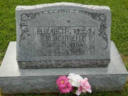 WELLS BURCHFIELD, ELIZABETH - Pulaski County, Kentucky | ELIZABETH WELLS BURCHFIELD - Kentucky Gravestone Photos
