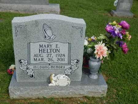 HELTON, MARY E. - Pulaski County, Kentucky | MARY E. HELTON - Kentucky Gravestone Photos