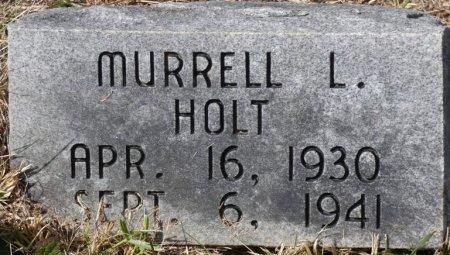 HOLT, MURRELL L - Pulaski County, Kentucky | MURRELL L HOLT - Kentucky Gravestone Photos