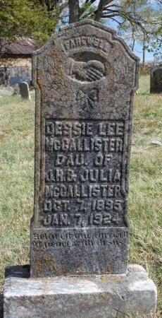 MCCALLISTER, DESSIE LEE - Pulaski County, Kentucky   DESSIE LEE MCCALLISTER - Kentucky Gravestone Photos