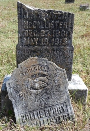 "MCCALLISTER, ZOLLIE EMORY ""SALLY"" - Pulaski County, Kentucky | ZOLLIE EMORY ""SALLY"" MCCALLISTER - Kentucky Gravestone Photos"