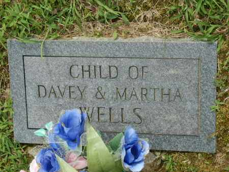 WELLS, CHILD - Pulaski County, Kentucky | CHILD WELLS - Kentucky Gravestone Photos