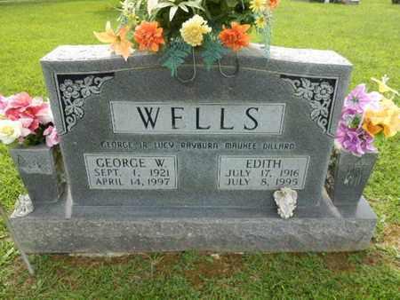 WELLS, EDITH - Pulaski County, Kentucky | EDITH WELLS - Kentucky Gravestone Photos
