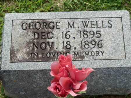 WELLS, GEORGE M. - Pulaski County, Kentucky | GEORGE M. WELLS - Kentucky Gravestone Photos
