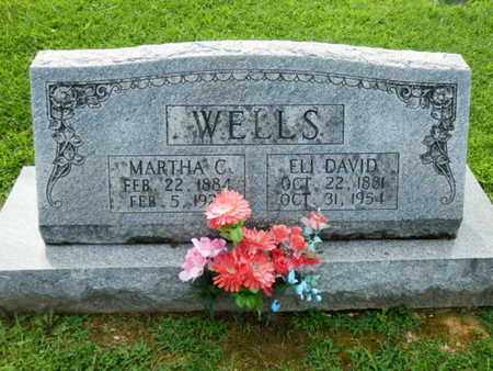 WELLS, MARTHA C. - Pulaski County, Kentucky | MARTHA C. WELLS - Kentucky Gravestone Photos