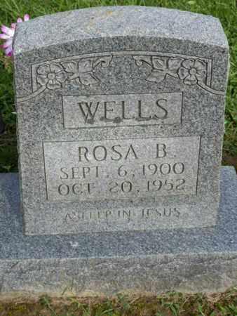 WELLS, ROSA B. - Pulaski County, Kentucky | ROSA B. WELLS - Kentucky Gravestone Photos
