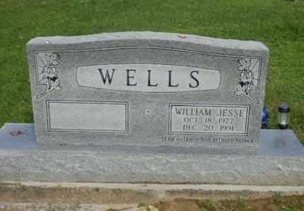 WELLS, WILLIAM JESSE - Pulaski County, Kentucky   WILLIAM JESSE WELLS - Kentucky Gravestone Photos