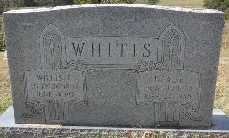 """WHITIS, CORDELIA """"DEALIE"""" - Pulaski County, Kentucky   CORDELIA """"DEALIE"""" WHITIS - Kentucky Gravestone Photos"""