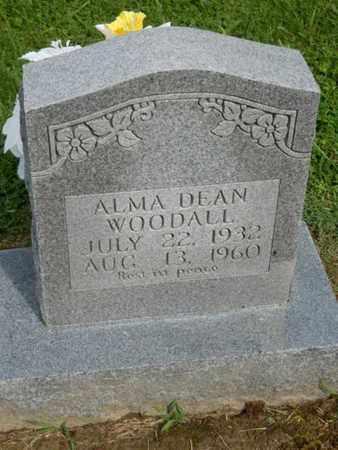 WOODALL, ALMA DEAN - Pulaski County, Kentucky | ALMA DEAN WOODALL - Kentucky Gravestone Photos