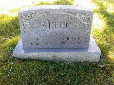 ALLEN, G WILSON - Rowan County, Kentucky   G WILSON ALLEN - Kentucky Gravestone Photos